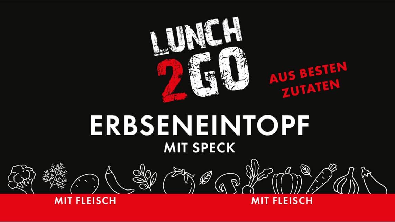 Lunch2Go - Erbseneintopf mit Speck